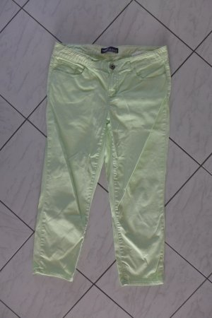 Arizona Hose Jeans gerade Chino Stretch hellgrün Gr. 42 L