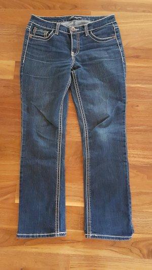 Arizona Jeans met rechte pijpen donkerblauw