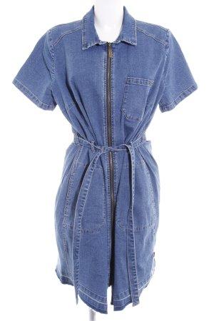 Arizona Robe en jean bleu acier style décontracté