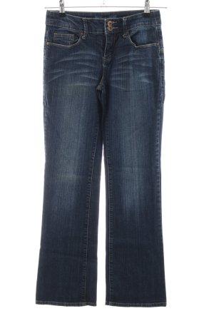 Arizona Jeans a zampa d'elefante blu stile casual