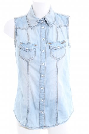 Arizona Smanicato jeans blu stile casual