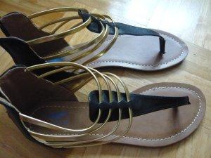 Arizona Sandalias cómodas negro Material sintético