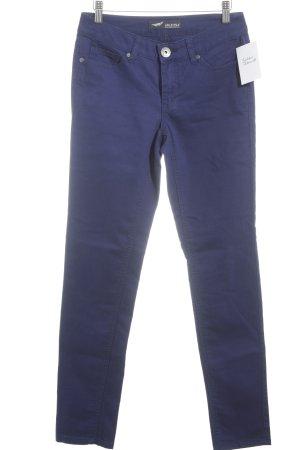 Arizona Stoffen broek blauw-paars simpele stijl