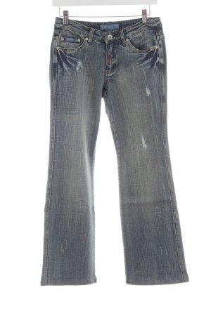 Arizona Jeans a gamba dritta blu-grigio chiaro stile casual