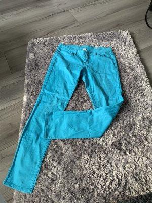 Arizona Skinny jeans turkoois-lichtblauw