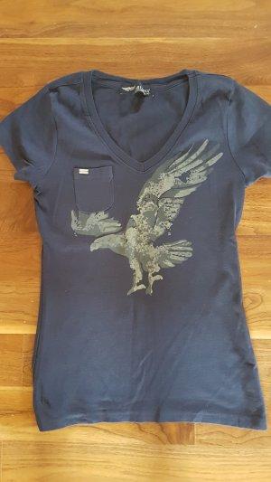 Arizona Camiseta blanco-azul oscuro