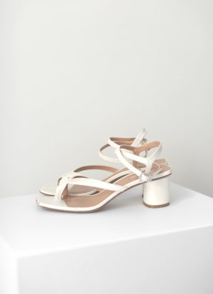 ARKET Roman Sandals natural white