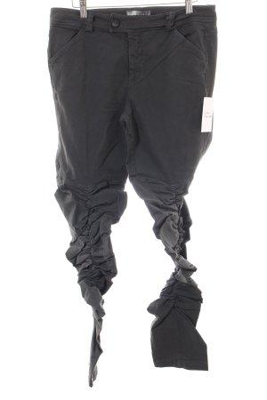 Arlette Kaballo Pantalon gris foncé style athlétique