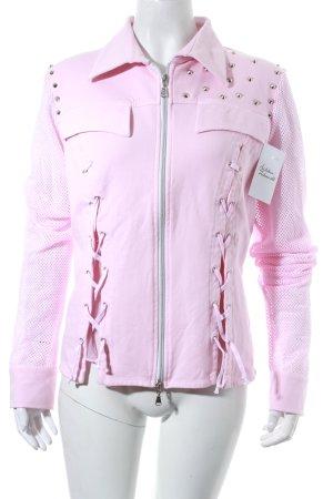 Arlette Kaballo Kapuzenjacke pink extravaganter Stil