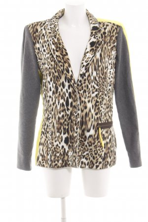Arlette Kaballo Long Blazer animal pattern extravagant style