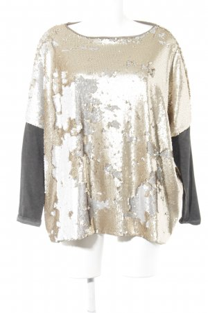 Arlette Kaballo Crewneck Sweater spots-of-color pattern extravagant style