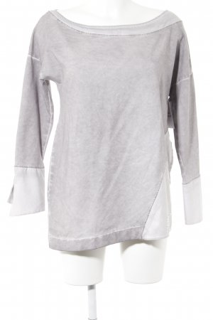Arlette Kaballo Crewneck Sweater slate-gray-mauve casual look
