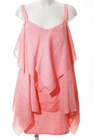 Arlette Kaballo Volante jurk roze elegant