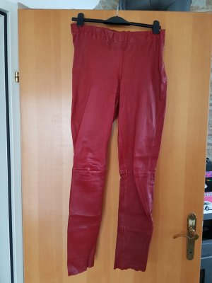 ARMA Collection # elastische Lederleggings in rot D 40/D42