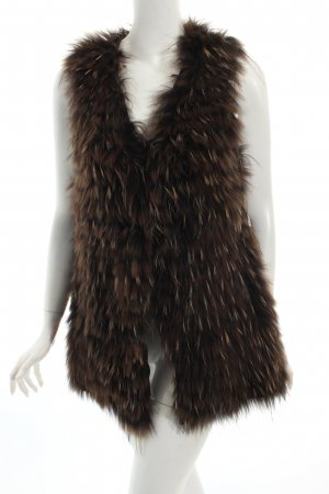 Arma Collection Fur vest animal pattern fluffy