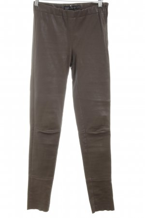 Arma Collection Leather Trousers brown casual look