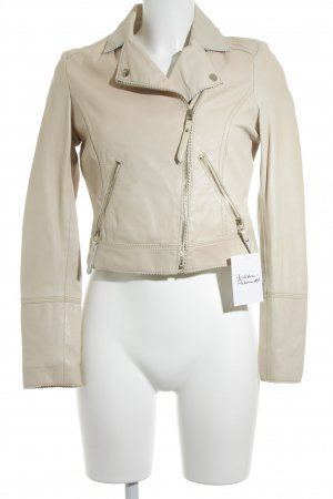 Arma Collection Chaqueta de cuero nude look nude
