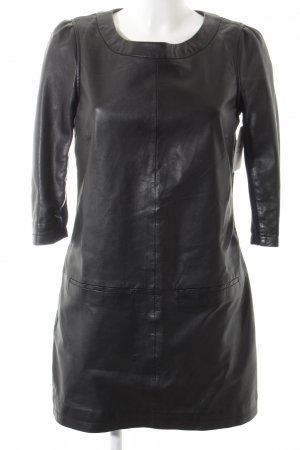 Arma Collection Robe en cuir noir style festif