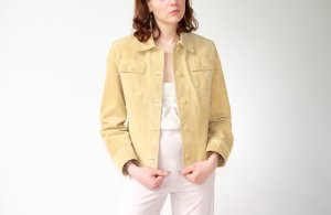 Arma Collection Leather Jacket sand brown suede