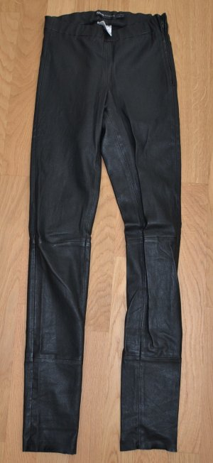 Arma Collection Leather Trousers black leather