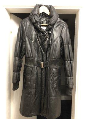 Arma Collection Cappotto in pelle nero