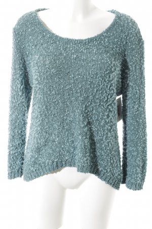 armand thiery Coarse Knitted Sweater sage green casual look