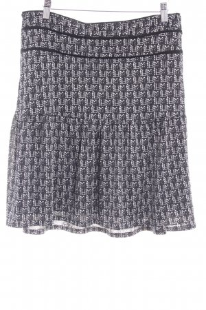 Armand Thiery Miniskirt black-white graphic pattern business style