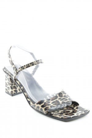 Armando Pollini High Heel Sandal animal pattern casual look