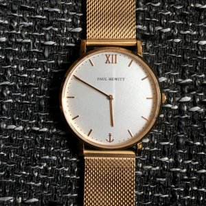 Paul Hewitt Watch With Metal Strap rose-gold-coloured