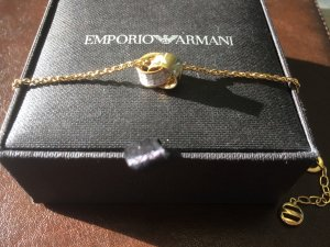 Armani Armband Armkettchen Gold/Zirkona Neu & OVP