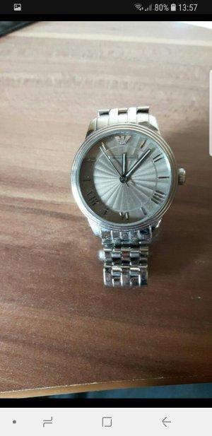 Armani Armbanduhr Damen Silber