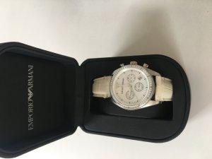 Armani Armbanduhr in weiß