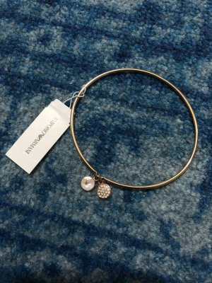 Armani Bangle silver-colored-rose-gold-coloured
