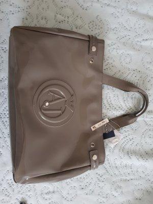Armani BAG Tasche Grau Lack