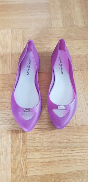 Armani Ballerinas with Toecap multicolored
