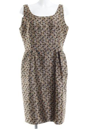 Armani Ballonkleid abstraktes Muster Elegant