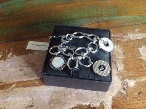 Armani Bettelarmband inkl. Charms Silber 925 Silver Neu mit Etikett & OVP