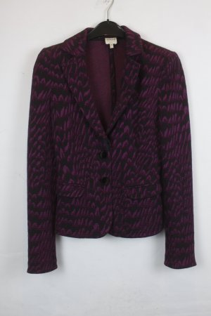 Armani Knitted Blazer black-purple cotton