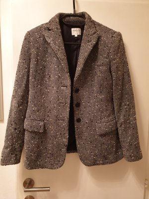 Armani Jersey Blazer silver-colored-black mixture fibre