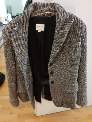 Armani Tweed Blazer black-white