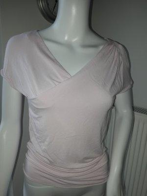 Armani Collezioni Chaqueta tipo blusa rosa Viscosa