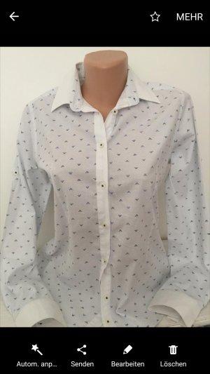 Armani Shirt Blouse white-blue