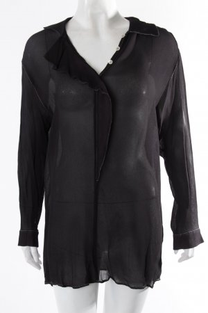 Armani blouse transparent