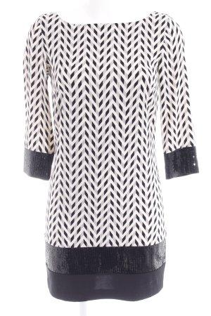 Armani Vestido camisero estampado con diseño abstracto elegante