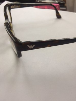 Armani Glasses black-brown