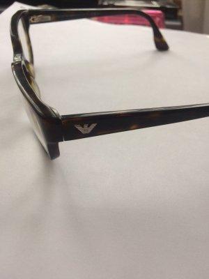 Armani Gafas negro-marrón