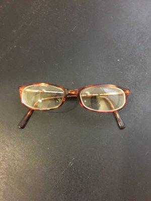 Armani Brillengestell braun