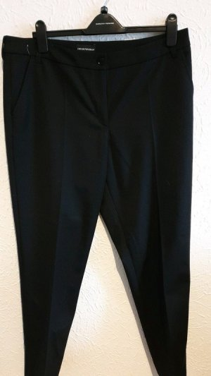 Armani Pleated Trousers anthracite-black polyester