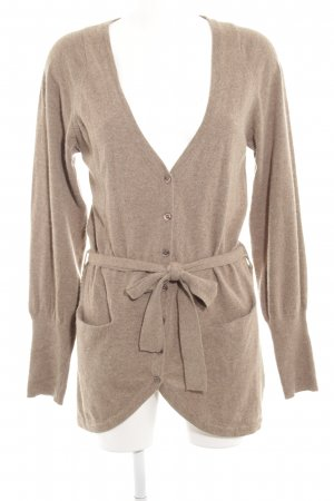 Armani Cardigan beige flecked casual look