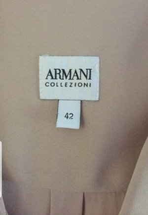 Armani Collezioni Blouse en soie vieux rose